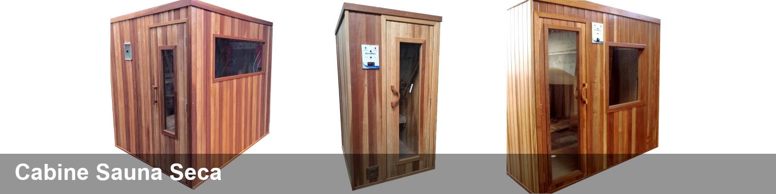 Cabines de Sauna Seca